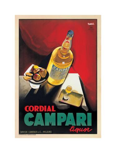 Cordial Campari Giclee Print