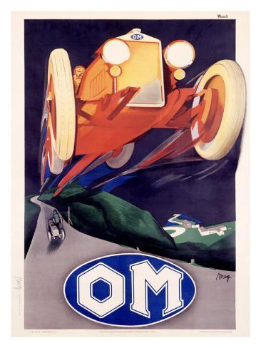 OM Roadster Giclee Print
