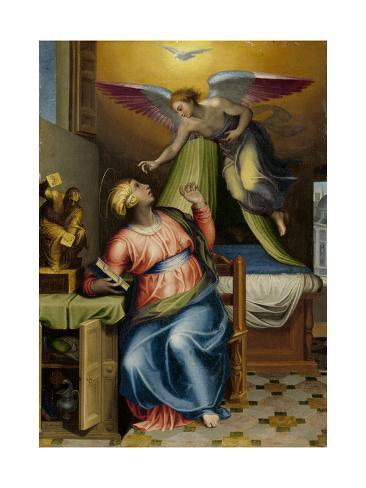 Annunciation to the Virgin Art Print