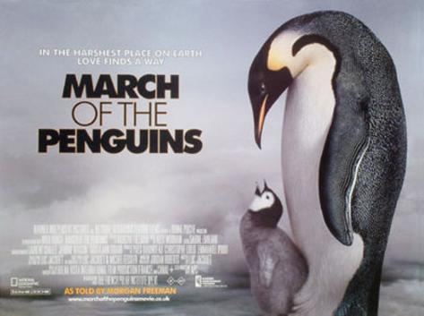 March Of The Penguins Original Poster