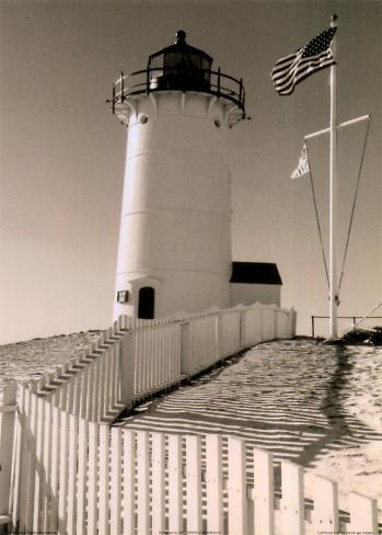 Lighthouse Isle Framed Art Print