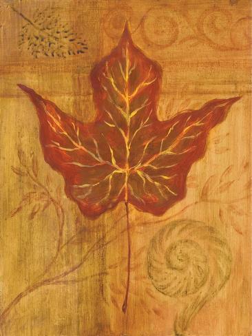 Autumn Leaf I Stampa giclée premium