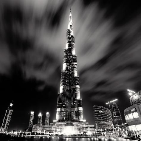 Burj Khalifa, Dubaï Art Print