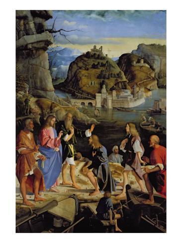 The Calling of the Sons of Zebedee Lámina giclée