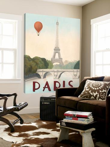 City Skyline Paris Loft Art