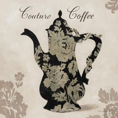 Couture Coffee Art Print