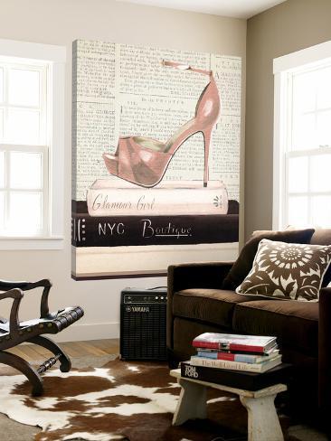 Fashion Magazine IV Loft Art