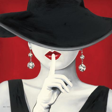 Grande chapéu vermelho I Pôsters por Marco Fabiano na AllPosters.com.br 1fb17a8b18f