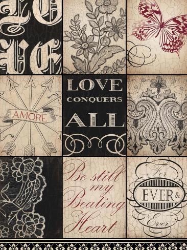Vintage Love Art Print