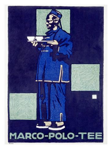 Marco Polo Tea Giclee Print