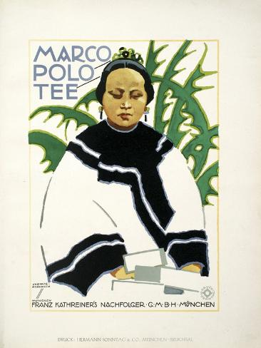 Marco Polo Plant Stampa giclée