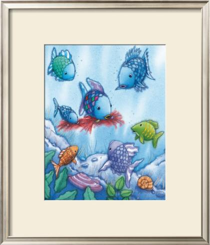 The Rainbow Fish V Framed Art Print