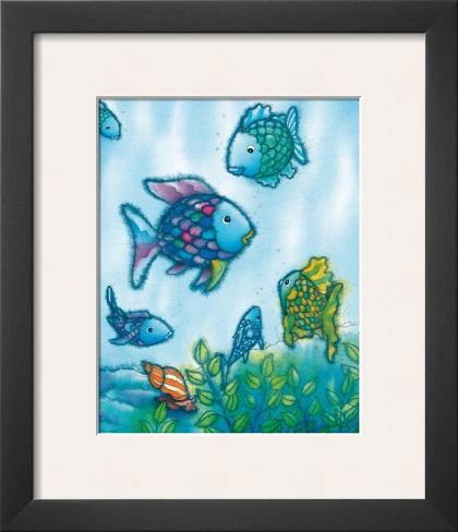 The Rainbow Fish VI Framed Art Print