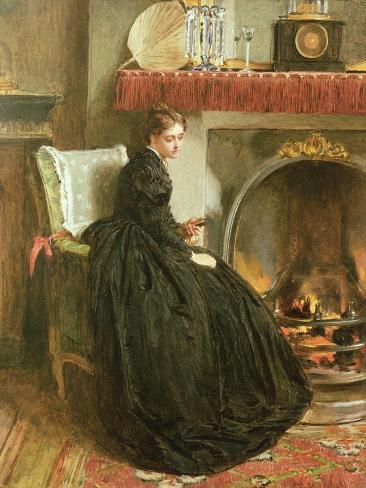 Lost in Thought, 1864 Giclee Print