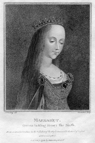 Margaret of Anjou, Queen Consort of Henry VI Giclee Print
