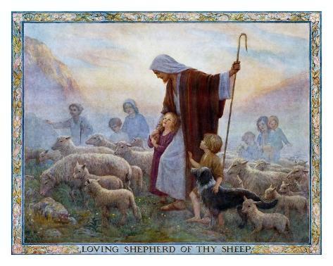 Loving Shepherd of Thy Sheep Art Print