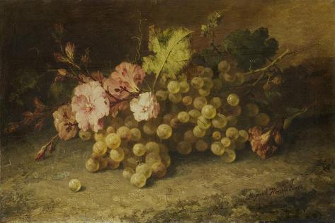 Stilleven Met Druiven Art Print