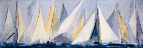 First Sail I Framed Art Print