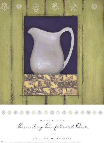 Country Cupboard I Art Print