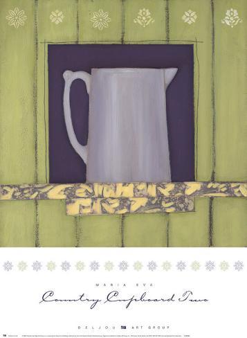 Country Cupboard II Art Print