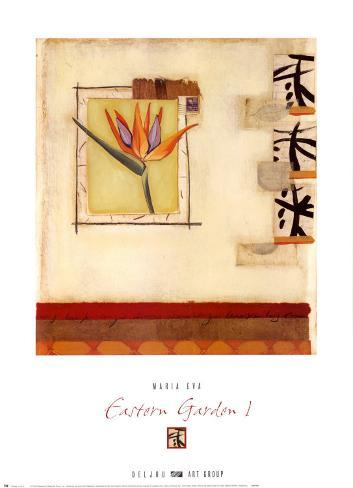 Eastern Garden I Art Print