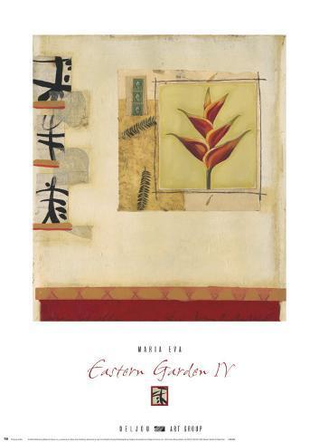 Eastern Garden IV Art Print