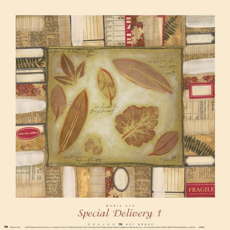 Special Delivery I Art Print