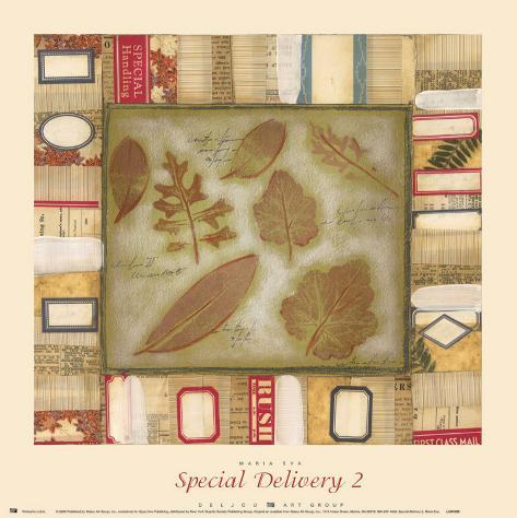 Special Delivery II Art Print