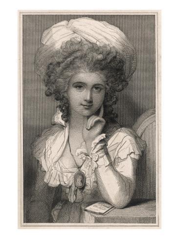 Maria Louisa Cosway Giclee Print