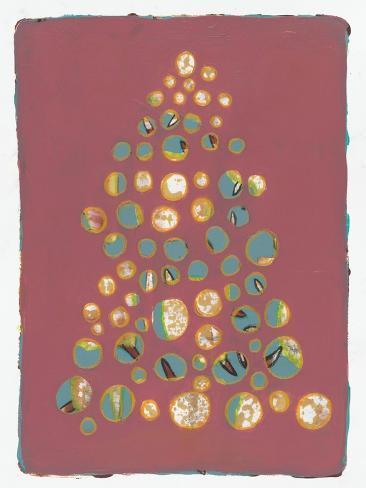 Xmas Tree 4 Stampa giclée