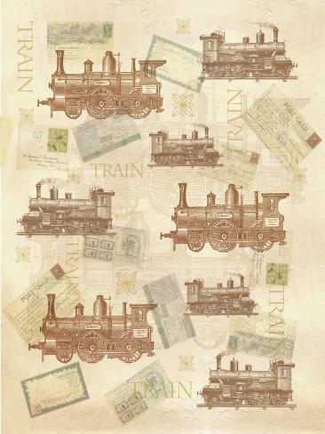 Treno Stampa giclée
