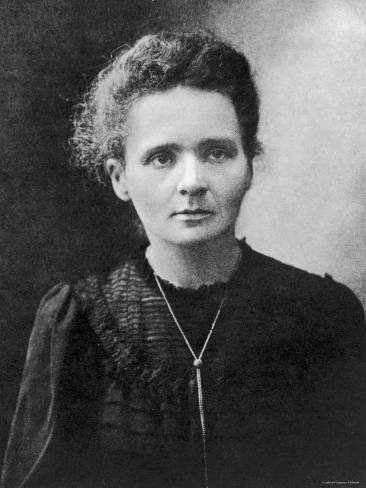 Marie Curie Premium Photographic Print