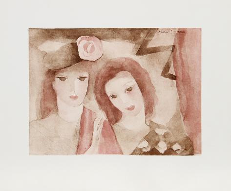 Two Women Lámina coleccionable
