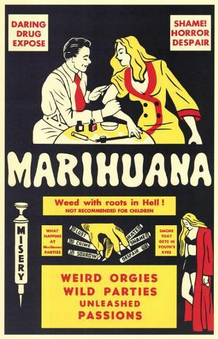 Marihuana Masterprint