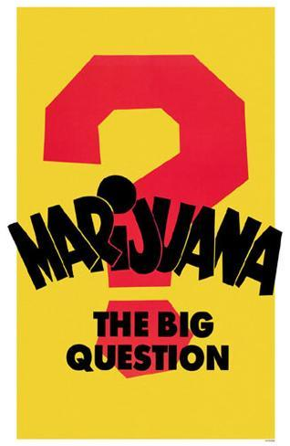 Marijuana The Big Question Masterprint