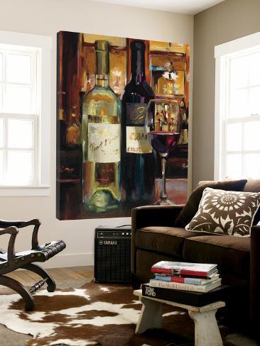 A Reflection of Wine II Loft Art