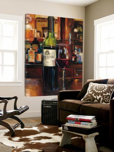 A Reflection of Wine III Loft Art