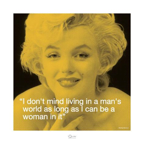 Marilyn: Man's World Art Print