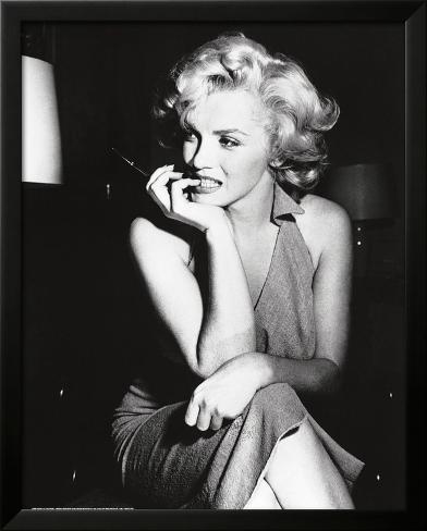 Marilyn Monroe, 1952 Impressão artística emoldurada