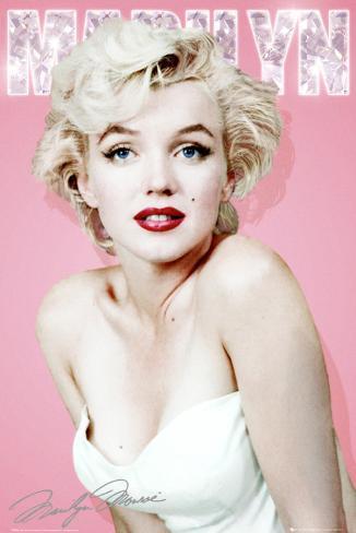 Marilyn Monroe-Diamond Pôster
