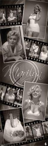 Marilyn Monroe - Filmstrip Collage Poster