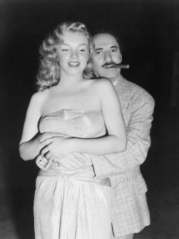 Marilyn Monroe, Groucho Marx, Love Happy, 1949 Stampa fotografica
