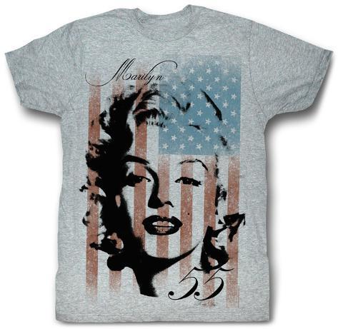 Marilyn Monroe - Marilyn Flag T-Shirt