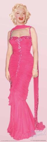 Marilyn Monroe Pink Dress Poster