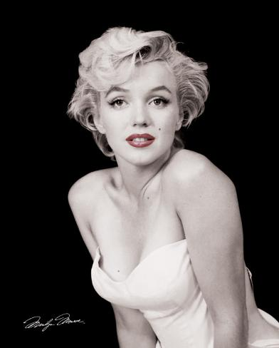 Marilyn Monroe - Red Lips Mini Poster