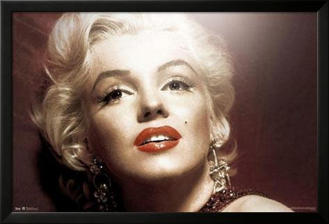 Marilyn Monroe - Style Lamina Framed Poster