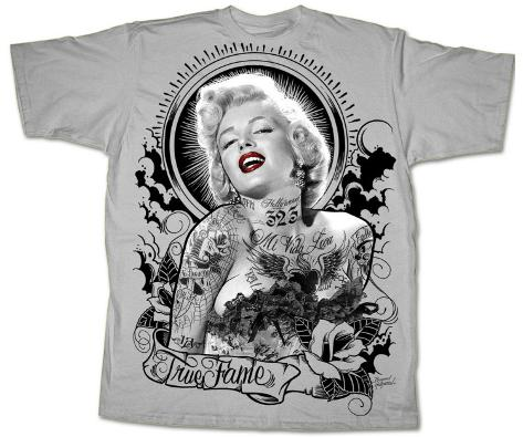 Marilyn Monroe - True Fame T-Shirt