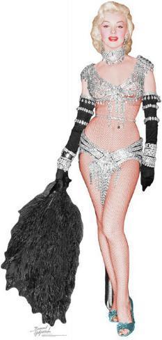 Marilyn Monroe Figura de cartón