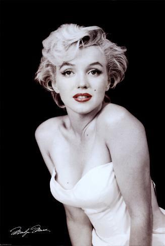 Marilyn Monroe Mounted Print