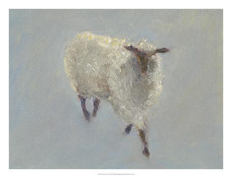 Sheep Strut II Art Print